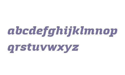 Quitador W01 ExtraBold Italic