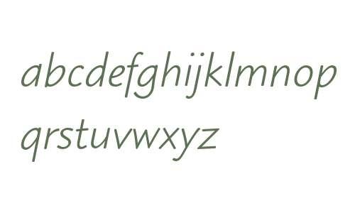 Blueprint MT Italic