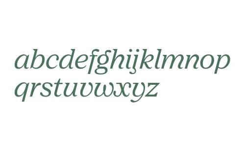 Nib Pro SemiBold Italic