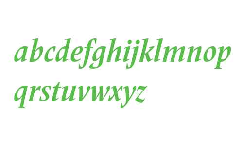 Frutiger Serif LT W04 Bd Cn It