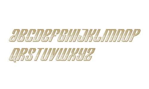 Department H Chrome Italic