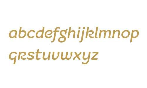 Fruitygreen W04 Italic