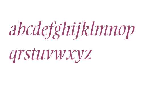 Ellington Light Italic
