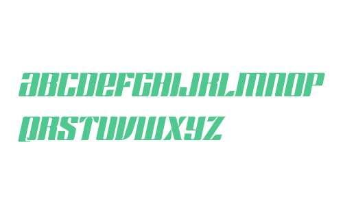 Chopper Biform W00 Italic
