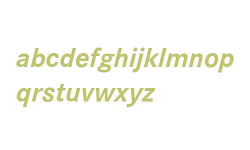 CorpoSLig Bold Italic