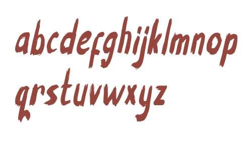 Jack script Italic