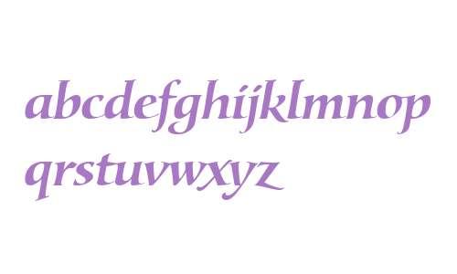 Lorenzo W01 Bold Italic