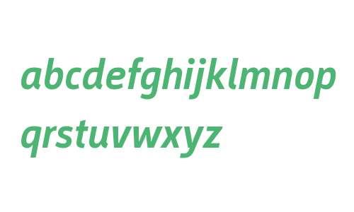 Argumentum W01 Medium Italic