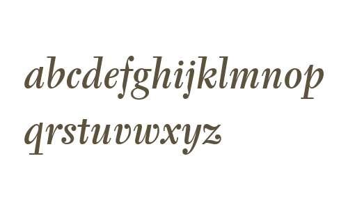 Tyfa ITC W04 Medium Italic