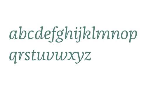 FranziskaWeb W03 Italic