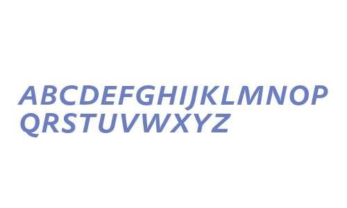 DTLProkyonTCapsMedium Italic
