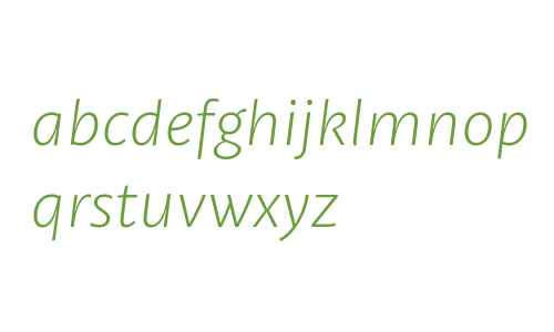Petala W03 Light Italic