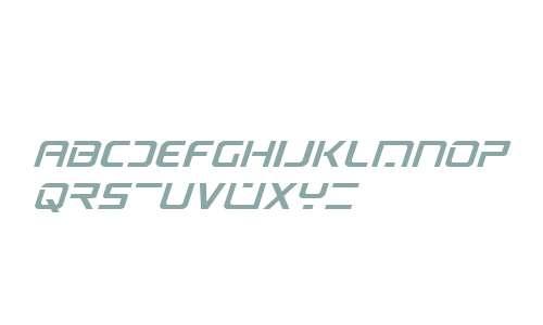 PsYonic VII Expanded Italic
