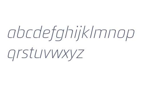 Quitador Sans W01 Light Italic
