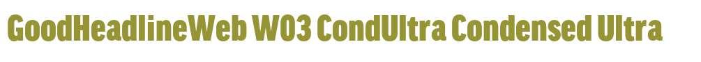 GoodHeadlineWeb W03 CondUltra