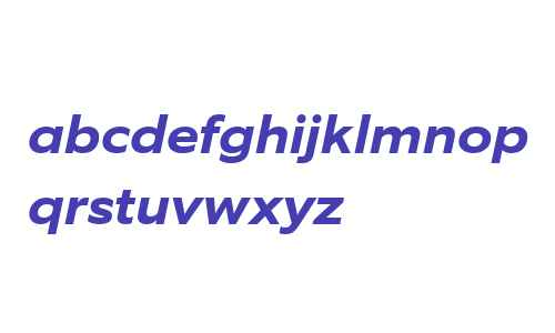 EquipExtended W03 Bold Italic