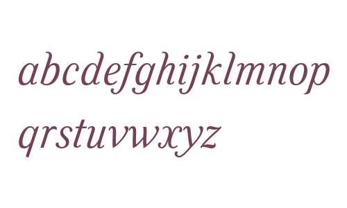 Felice W03 Light Italic