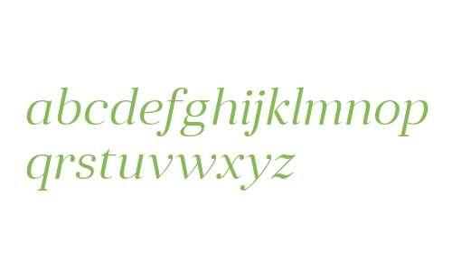 Anglecia Pro Title Light Italic