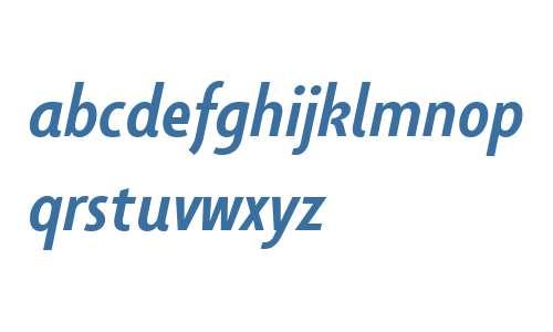 Taffee W01 Medium Italic