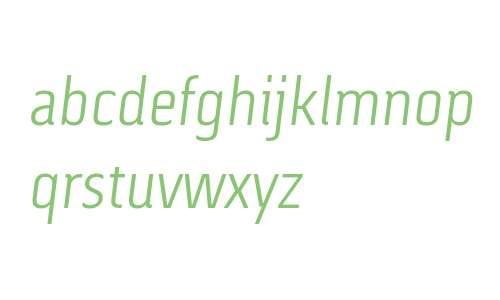 Via Sans W03 Light Italic