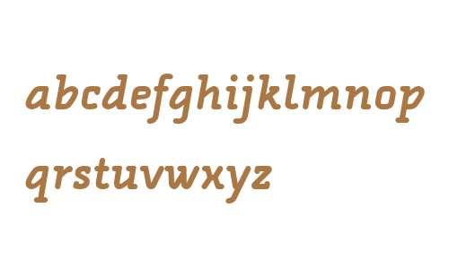 Alega Serif OT W03 Bold Italic