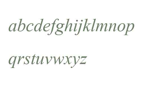 AngsanaUPC  Italic
