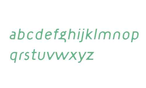 TargetLight Italic W00 Regular