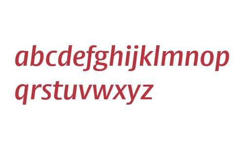 Big Vesta Pro SemiBold Italic