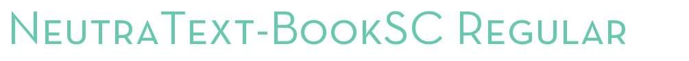 NeutraText-BookSC