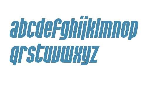 SF Port McKenzie Extended Bold Italic V2 V1