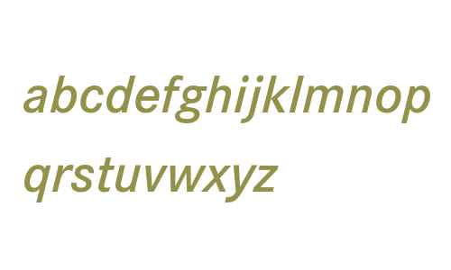 Corporate S W07 Demi Italic