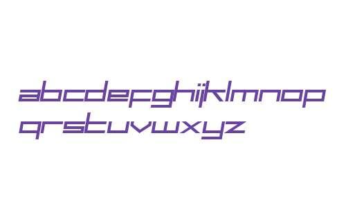 SF Square Head Italic V1 V2
