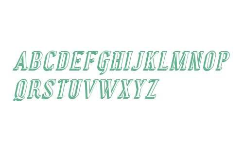 SF Covington SC Shadow Italic