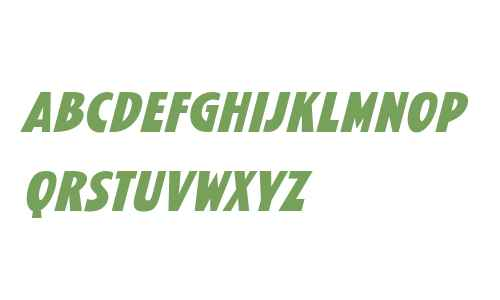 Kane W00 Bold Italic