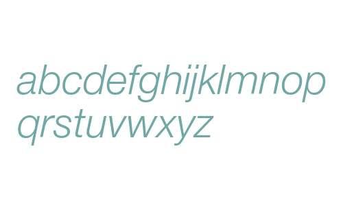 HelveticaNeueCyr-LightItalic