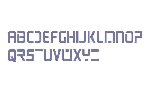 PsYonic VII Bold Condensed