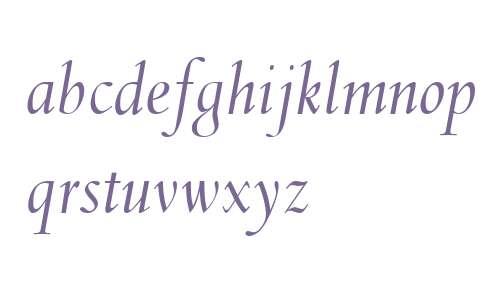 Spectrum MT OsF Italic