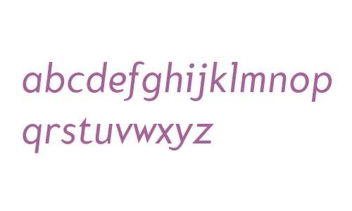 Mercury Italic
