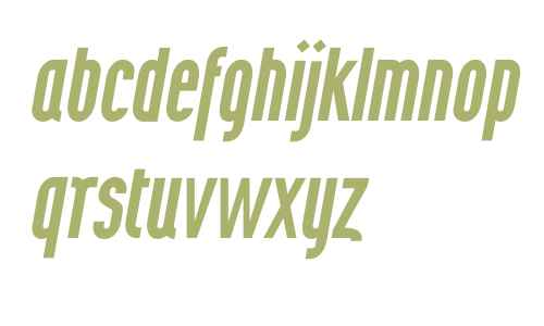 Wurz UP W00 Medium Italic