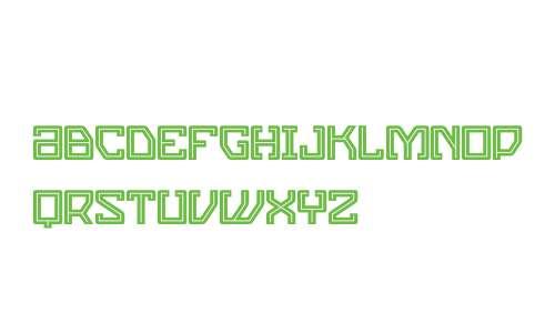 Eslava Inline W00 Regular