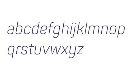 Panton Narrow Light Italic