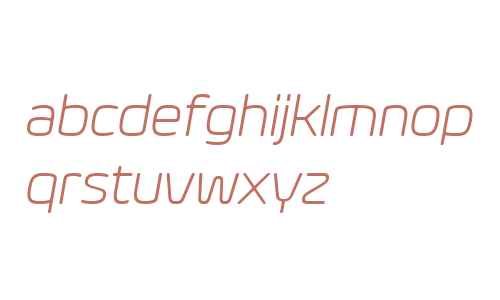 Eurosoft W03 Light Italic