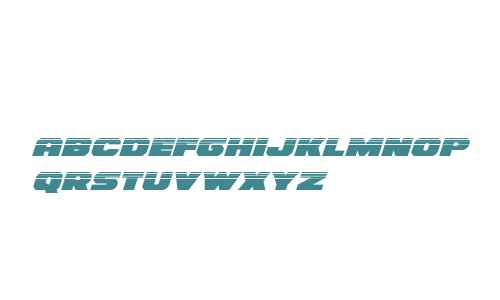 Bummer Halftone Italic