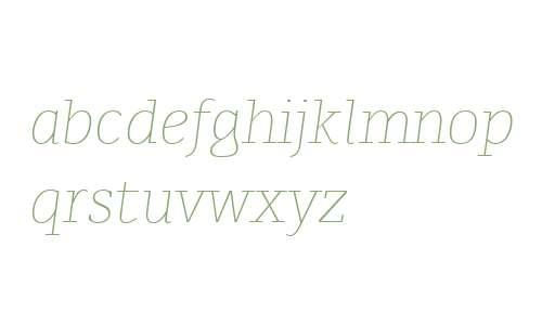 Karlo Serif W00 Extra Light It