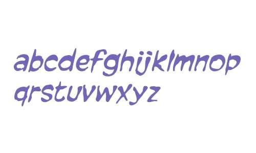 CCForkedTongue W00 Italic