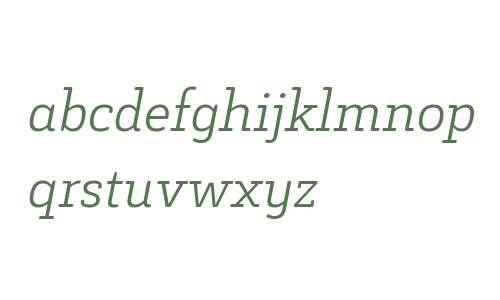 Decour Soft W00 Light Italic