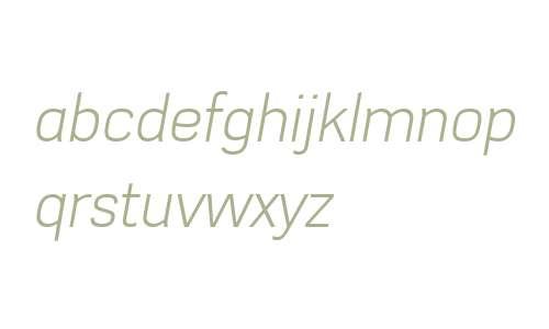 Azbuka W01 Light Italic