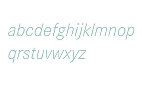 Corporate S Light Italic