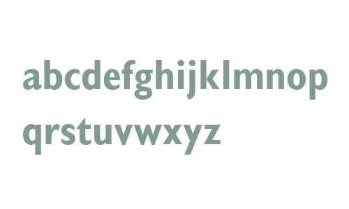 Gill Sans W04 Display Bold Cond