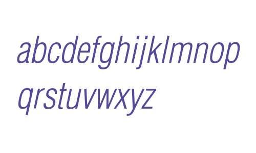 HelveticaLTStd-LightCondObl